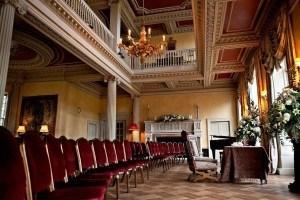 main hall at hampton court house venue