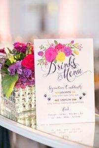 A Bright and Bold Summer Wedding at Kew Gardens