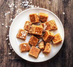 How To Make The Perfect Salted Caramel Fudge | Create