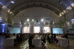 Summer Parties at the Royal Horticultural Hall | Create Food | London Summer Party Venue Hire