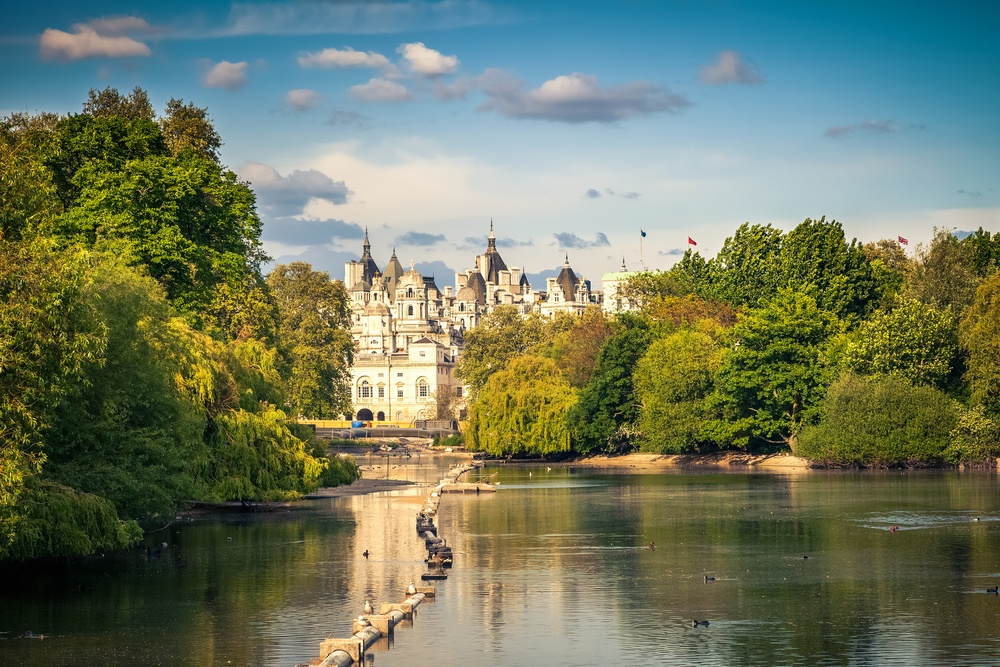 St James Park - Top spots for a picnic in London