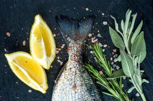 Eating in Season This April - Cooking with Wild Sea Trout