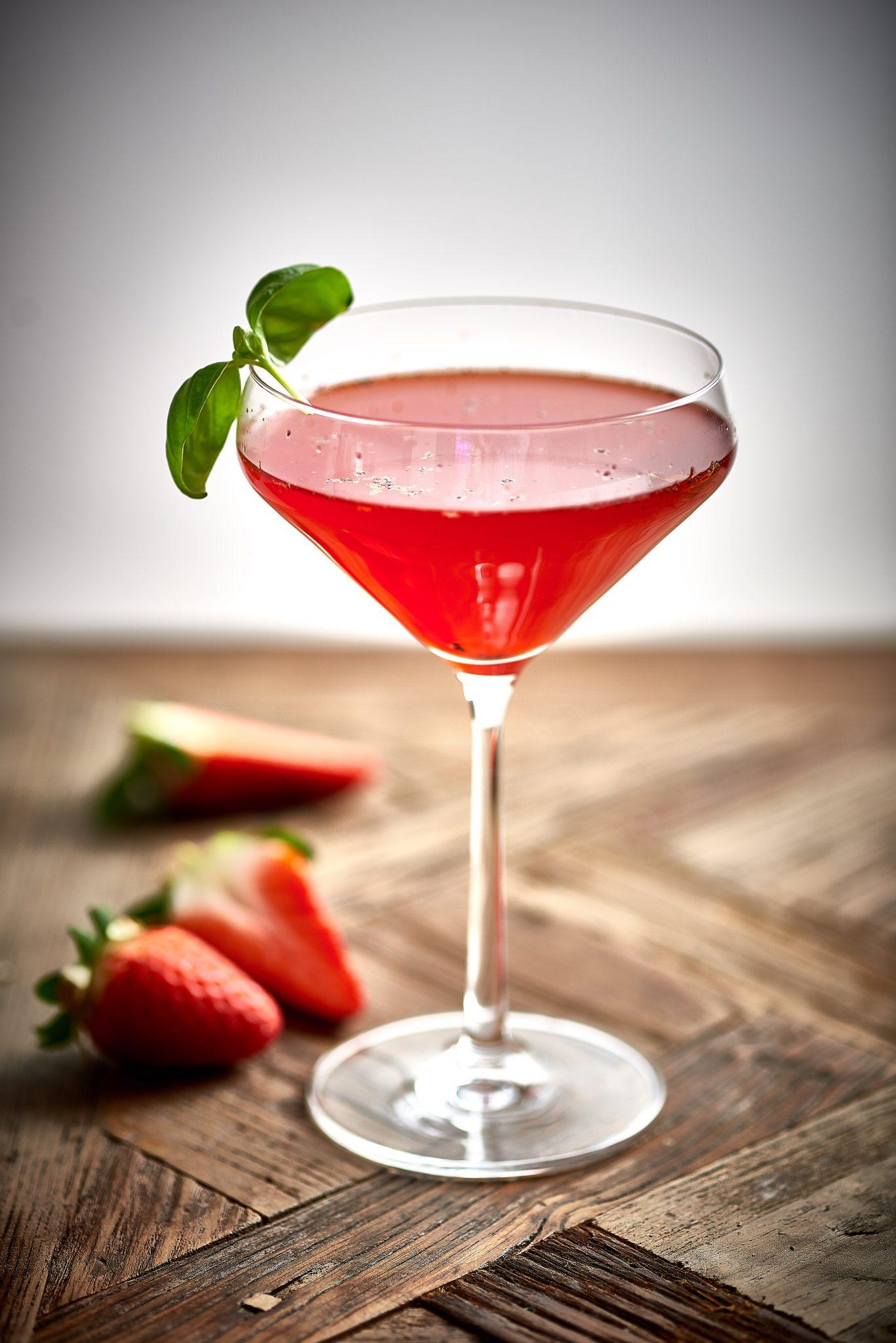 Cocktail of the Month: The Garden Martini | Create Food