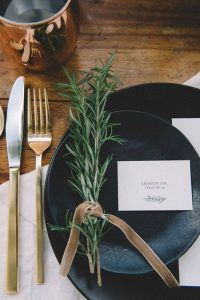Table wear wedding trends